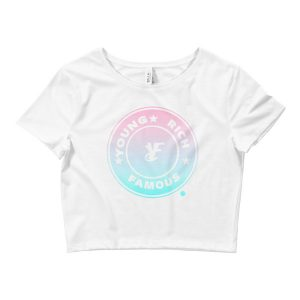 Young Rich Famous Prue Crop Tee