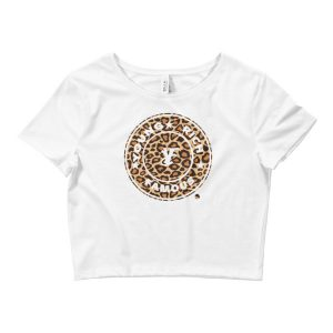 Young Rich Famous Felina Crop Tee