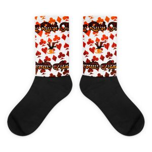 Young Rich Famous Retro Hearts socks