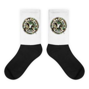 Young Rich Famous Full CircleCamo socks
