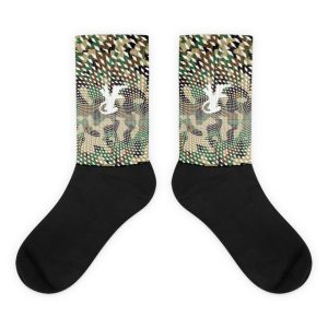 Young Rich Famous Camo socks