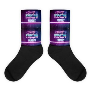 Young Rich Famous Retro socks
