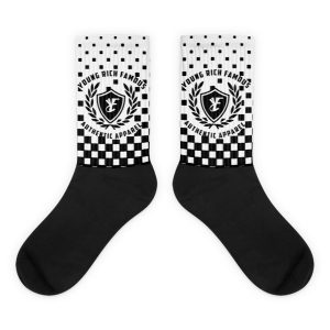Retro block socks